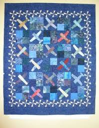 Airplane Quilt Block Tutorial … | Pinteres… & Airplane quilt used as a Roman shade Adamdwight.com