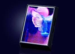 looking glass portrait display für