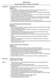 Accounts Receivable Specialist Resumes Accounts Receivable Specialist Resume Template Resume Templates 2019