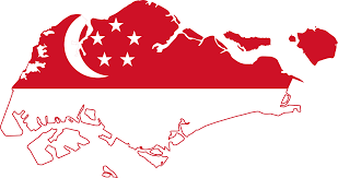 Cool Singapore Map Flag Free Wallpapers