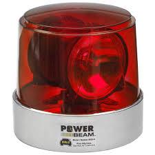 wolo lighting. Wolo Power Beam Halogen Rotating Warning Light, Red Lighting