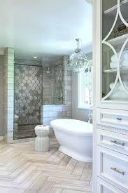 Grey Herringbone Tile Floor Chevron Wood Cost Of Floors Bathroom