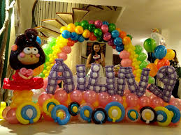 home decor balloon decoration for birthday party at home room