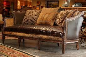 western rustic sofa