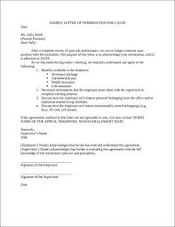 Example Letter Of Termination Free 33 Printable Termination Letter Samples Templates In
