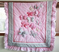 hand made girl quilts - Google Search | Projects to Try ... & Cheap cotton pajamas for women, Buy Quality cotton best directly from China  bedding frog Suppliers: New Pink Butterfly Lace Baby Crib Bedding Set ... Adamdwight.com