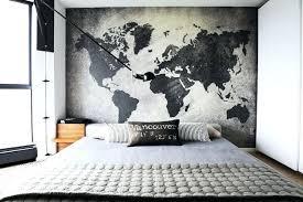 art bedroom ideas bedroom wall art decor modern and stylish men bedroom design ideas world map art bedroom ideas wall