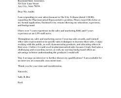 Sales Resume Cover Letter Sample Pharmaceutical Sales Resume Cover Letter Nursing Samples