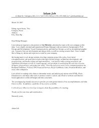Creative Cover Letter Samples Template Resume Builder