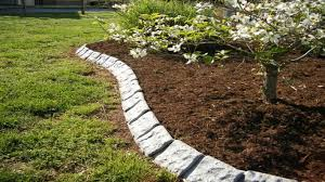 Installing Stone Garden Edging Best Idea Garden