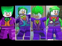 <b>Evolution</b> of The Joker in <b>LEGO</b> Videogames - YouTube