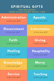 gives his own spiritual gifts to benefit the mon good what is your gift