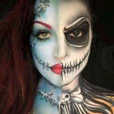 pin for later this makeup artist gives your favorite disney characters a twisted makeover sally and jack skellington