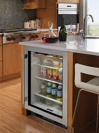 undercounter beverage cooler.  Cooler SubZero UC24BGSTHRH  Lifestyle View On Undercounter Beverage Cooler