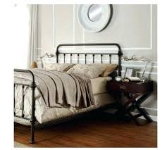 Wrought Iron Full Size Bed Frame Black Metal Full Size Bed Bed ...