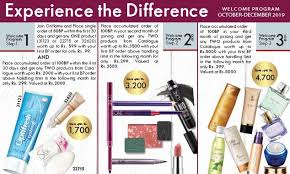 Oriflame Bp Chart Current Month Offers Oriflame Cosmetics