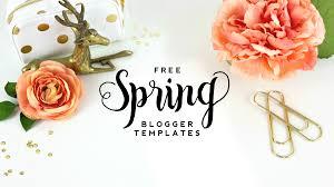 Free Spring Blogger Templates Designerblogs Com