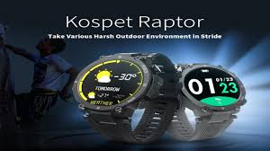 <b>Kospet Raptor Outdoor Smart</b> Watch + Best offer buy - YouTube
