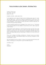 Formal Dinner Invitation Sample Invitation Letter For A Party Party Invitation Letter Party