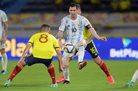 Messi, Argentina concede late, draw ...