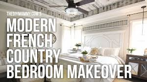 bedroom in french. MODERN FRENCH COUNTRY FARMHOUSE Master Bedroom Makeover Week 6 // One Room Challenge In French E