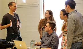 yale law journal article is prime example of professor student dan krauss and students in the classroom