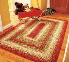 100 cotton braided rug santa fe sunrise