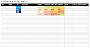 Free Risk Assessment Matrix Templates Smartsheet
