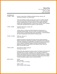 Sample Social Work Resume Template Best Of Objective Statement For