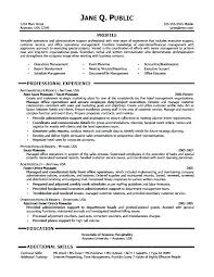 Administrative Assistant Resume Cover Letter Sample Resumes For
