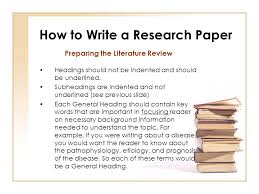 Research Paper Terms How To Write A Research Paper Ppt Video Online Download