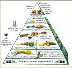 Healthy Food Pyramid Chart Healthy Eating Pyramid Diet