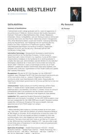 Qa Engineer Resume Sample Enchanting Quality Assurance Engineer Resume Samples VisualCV Resume Samples