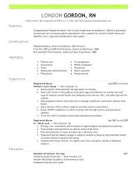 Download Word Doc Resume Templates Word Doc Registered Nurse For Free Document