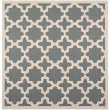 courtyard anthracite beige 8 ft x 8 ft indoor outdoor square area