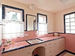 can i paint bathroom tile. Pink Tile Bathroom Update And Black Vintage Ceramic Home Design 3d Review . Can I Paint