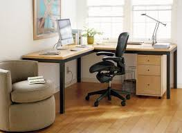 Best Modern Office Furniture Magnificent R Parsons LShape 48x48 Desk With 48x48 Desk Return Top Maple