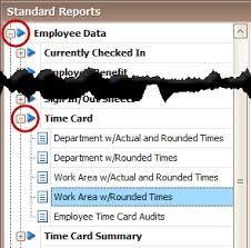 Employee Time How To Print Employee Time Cards Procare Support