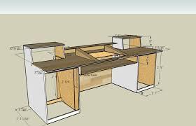 ... Attractive Inspiration Ideas 4 Home Studio Production Desk Blueprints  Measurements For A Recording Build I Think ...