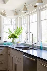 over the sink kitchen lighting. Light Above Kitchen Sink Window Ideas Over The Lighting
