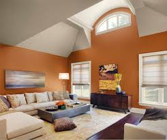 Warm Wall Colors For Living Rooms Wall Color Design In Living Room Home Combo
