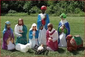 light up nativity set outdoor get lighted outdoor saveenlarge cool outdoor nativity set holidays