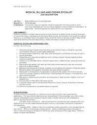 Cover Letter For Medical Billing And Coding Medical Coding Resume