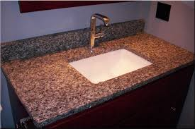 innovative ideas bathroom sinks for granite countertops granite bathroom countertop with undermount sink and stainless steel