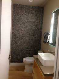 Grey Standing Mosaic Bathroom Feature Wall Pebble Tile Shop - Mosaic bathrooms