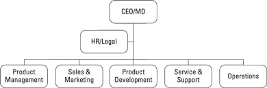 Product Management On The Organizational Chart Dummies