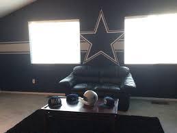 dallas cowboys room decor ideas