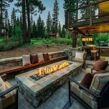 this diy backyard fire pit can really only be pulled off in a large area but if you have the room to spare this gorgeous giant would make a stunning