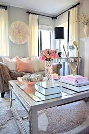 The Secret to Coffee Table Decorating | Black curtain rods, Black ...