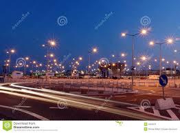 lanterns lights lot night parking